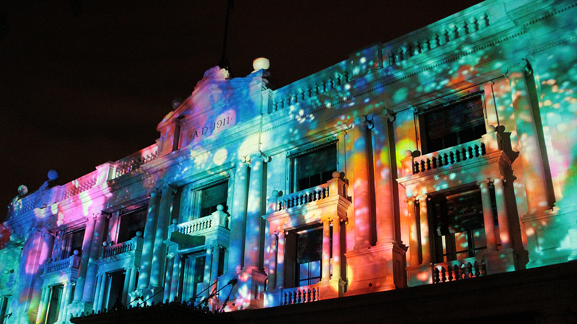 Projection facade